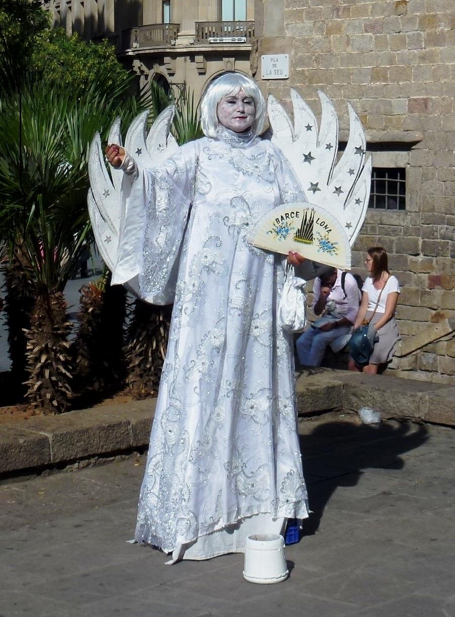 Bild: Engel von Barcelona